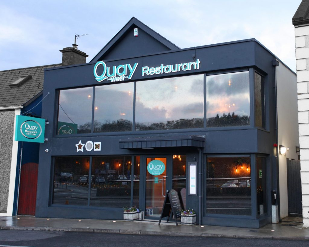 Quay West Restaurant Donegal Town